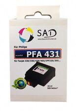 SAD Patrone für Philips PFA 431 Faxjet 320 325 330 335 355 365 375 420 etc. bk