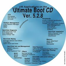 Ultimate Boot Disc DVD fixes everything - DOS utilities repair