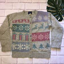 Woolrich Wool Nordic Sweater Fairy Kei Pastel Small *READ*
