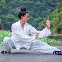 Wudang Taoist Uniform Kung Fu Tai Chi Martial Arts Shaolin Wing Chun Suit Linen
