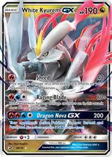 Pokemon Dragon Majesty White Kyurem GX #48 Ultra Rare Holofoil - Near Mint