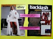 Beyonce Destiny'S Child J-14 Magazine Tlc Lisa Left Eye Lopes Vintage Clipping