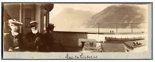Suisse, Lac de Lucerne  Vintage print.  Tirage citrate  5X16  Circa 1900