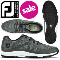 FootJoy FJ Leisure Spikeless Women's Golf Shoes Charcoal/Black - NEW! *REDUCED!*
