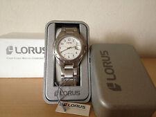 New - Reloj Watch Montre LORUS Ref. RXD419L-9 - Quartz - Steel Acero - Nuevo