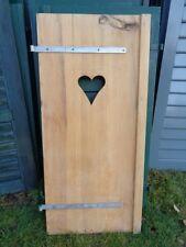 1 Stück Fensterladen - Holz - gebraucht - Höhe 128 cm - Breite 56,5 cm