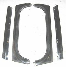 Sunbeam Alpine III IV V & Tiger Windshield Vertical & Drip Trim Set 4 Used Orig