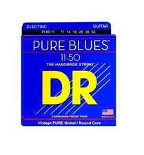 DR Strings PHR-11 Pure Blues Pure Nickel Wrap, Heavy, 11-50