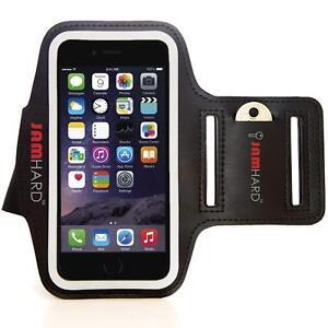 """JAMHard Armband Iphone 6 6s Running Sports Key Holder Case 4.7"""" Black Gym Boxed"""