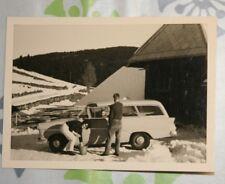 Foto Auto Car Opel Rekord P1 KFZ 1961 Fahrzeug X1