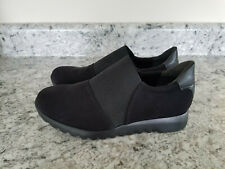 Munro KJ Womens Loafer Shoes Size 7 Black Fabric/Gore