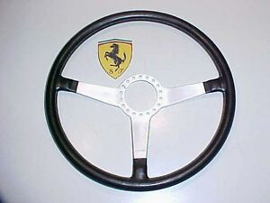 Ferrari 365 Steering Wheel Momo Daytona GTS4 GTB4 Leather M 20340 OEM