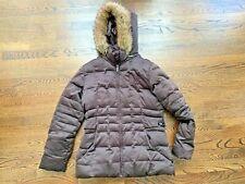 Women's winter jacket/coat Calvin Klein - faux fur-trimmed hood, Size Medium