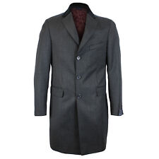 Luciana Di Martina - Italian Charc Overcoat - 50/40UK  *NEW WITH TAGS* RRP£285