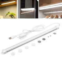 LED 5W Strip Bar Light Tube Lamp Switch Sensor Cupboard Under Cabinet Kitchen