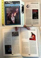 Cinemacabre #7 Don Dohler: Blood Massacre: horror review magazine fanzine rare