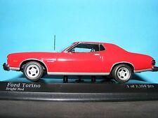 FORD GRAN TORINO 1976 RARE Minichamps 1:43 Scale  NLA