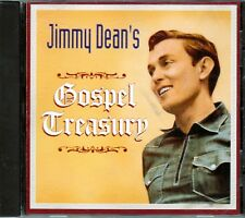 JIMMY DEAN Gospel Treasury CD Classic Christian JUST AS I AM PASS ME NOT Rare