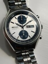 Seiko 6138-8020 Panda - original dial - Automatic Chronograph vintage Aug 1977