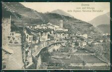 Brescia Valle Camonica Bienno cartolina QK6953