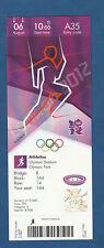Orig.Ticket   Olympische Spiele LONDON 2012 - Leichtathletik 06.08./ 5 Finals -B