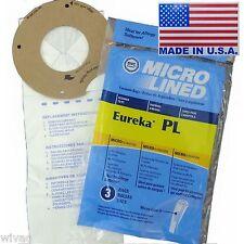 3 Eureka PL Upright Vacuum Bags Maxima LightSpeed