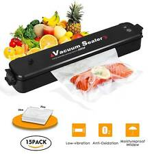Household Food Vacuum Sealer Package Machine Electric Film Sealer Vacuum Packer