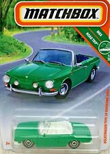 Matchbox  VW Volkswagen Type 34 Karmann Ghia Convertible Cabriolet - green