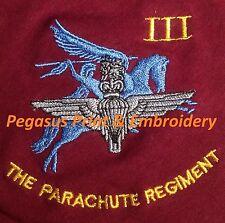 Parachute régiment III 3 para Polo Logo Brodé
