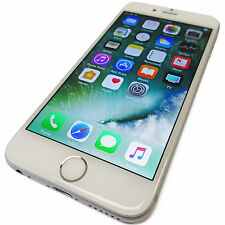 Unlocked Apple iPhone 6 64GB White / Silver iOS 10.3.1 GSM 4G LTE A1549 Grade A-