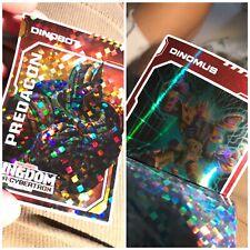 Transformers Kingdom DINOBOT Golden Disk Card War For Cybertron DINOMUS
