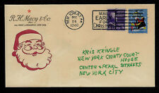 Miracle on 34th Street Santa Claus Special Edt. Collector's Envelope. XS1025