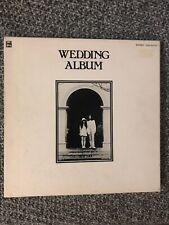 John Lennon Lp Wedding Album V. G Vinyl Mint Condition EAS-80702