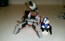 Lego Star Wars Arc Trooper Fives Custom MiniFigure with Lego Cannon Set