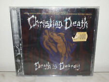 CD CHRISTIAN DEATH - DEATH IN DETROIT - NUOVO NEW