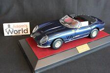 RP Model Ferrari 275 Spider NART soft top (open) 1:18 blue (PJBB)