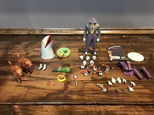 DC Collectibles Joker And Harley Quinn expression pack parts lot