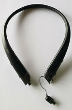 New listing Black Lg Tone Platinum+ Plus Hbs-1125 Wireless Headset - Works but Cord Retracts