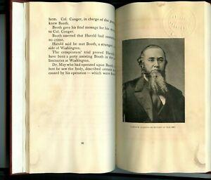 Abraham Lincoln and Boston Corbett Booth Davis by Byron Berkeley Johnson Vntg HB