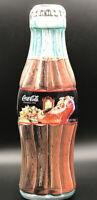 Coca Cola Tin Box Bottle Shape 1998 Christmas Edition