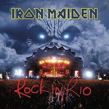 IRON MAIDEN - ROCK IN RIO (2017 REM. 180 GR)  3 VINYL LP NEU