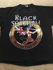 1999 Black Sabbath Reunion Tour T-Shirt - Size Large