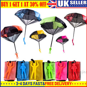 Kids Mini Play Parachute Soldier Toy Hand Throwing Outdoor Sports Children Toy