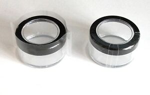 Clear Plastic PERFORATED Heat Shrink Bands for Jar / Bottle Caps 4 SIZE CHOICES
