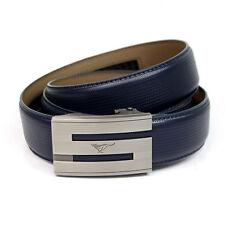 New-Mens Belt Genuine Septwolves Real Leather Fashion Black/Brown/Blue All Size