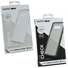 NEW Genuine TECH21 Evo Check FlexShock Impact Protection Case For Galaxy Note 8