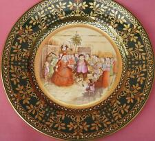 COMPLETE SET OF 6 CAVERSWALL PICKWICK CHRISTMAS PLATES CHARLES DICKENS JOHN BALL
