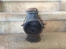 Antique 1897 Dietz Tubular Driving Lamp Early Automobile Car Safety Lantern