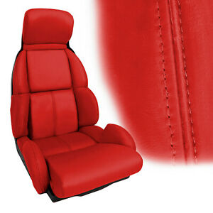1993 Corvette Seat Covers Torch Red STANDARD Seats 611230950