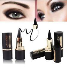 Waterproof Eyeliner Cosmetic Makeup Eye Liner Pencil Matte Black Womens Gift New